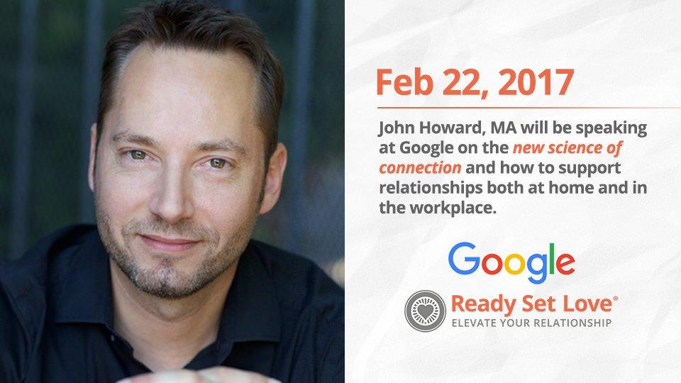 John Speaking at Google Feb 22!