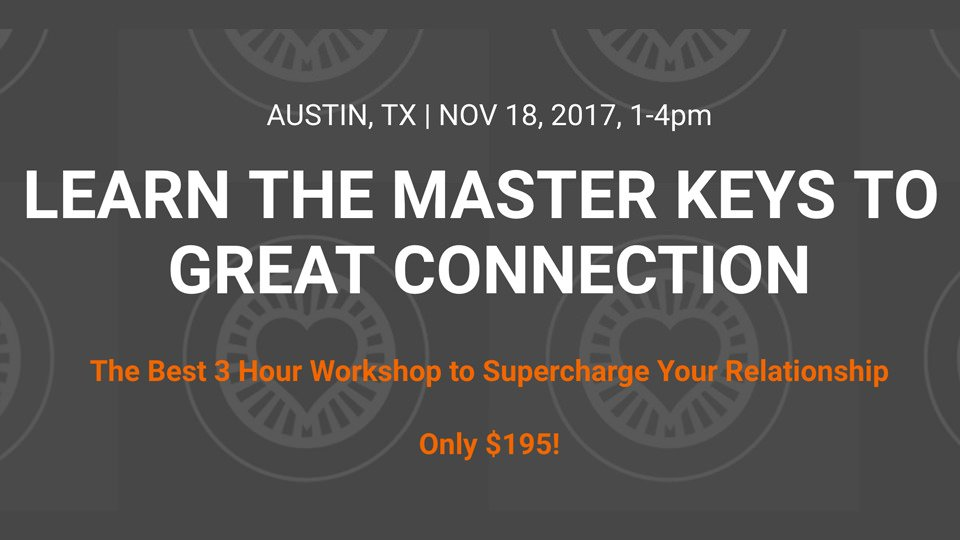 Nov 18 Couples Workshop in Austin