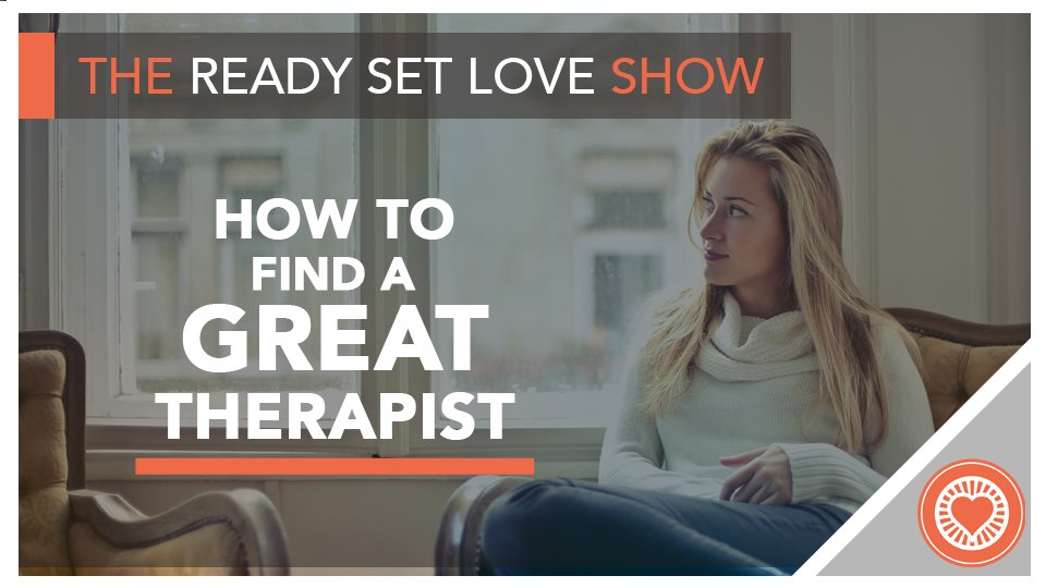 How to Find a Great Therapist